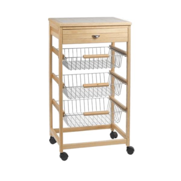 Carrello-Cucina-in-legno-multiuso-e-acciaio